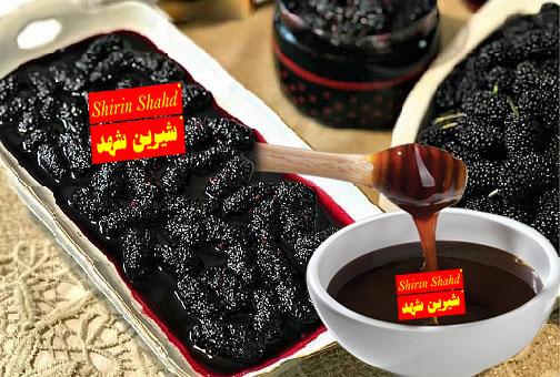 خرید بهترین شیره توت طبیعی ارزان قیمت