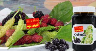 شیره توت خالص با قیمت فروش ارزان
